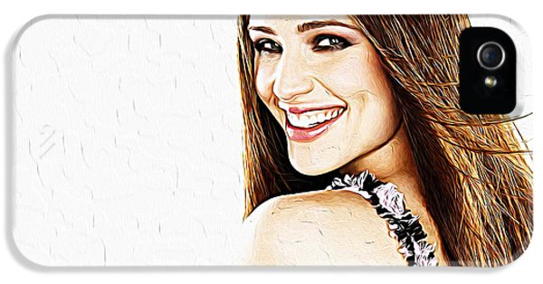 Jennifer Garner IPhone 5 / 5s Case by Iguanna Espinosa