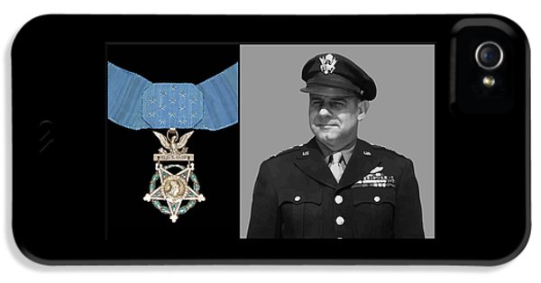 Honor iPhone 5 Cases - Jimmy Doolittle and The Medal of Honor iPhone 5 Case by War Is Hell Store