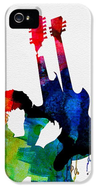 Jimmy Watercolor IPhone 5 / 5s Case by Naxart Studio