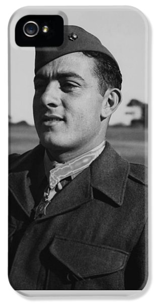 John Basilone IPhone 5 / 5s Case by War Is Hell Store