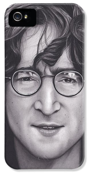 John Lennon IPhone 5 / 5s Case by Brittni DeWeese
