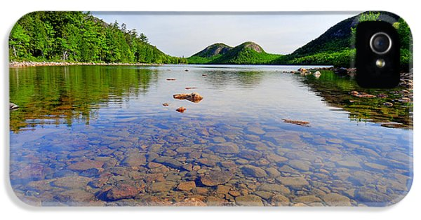 Jordan Pond And The Bubbles IPhone 5 / 5s Case by Thomas Schoeller