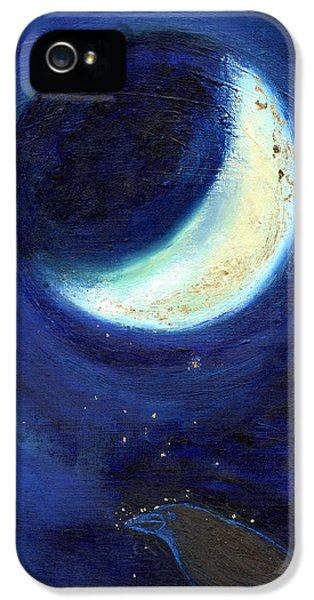 July Moon IPhone 5 / 5s Case by Nancy Moniz