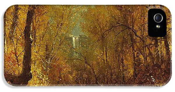 Kaaterskill Falls IPhone 5 / 5s Case by Sanford Robinson Gifford