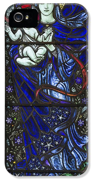 Stained iPhone 5 Cases - Karl Parsons Stained Glass Bibury Detail iPhone 5 Case by Tim Gainey