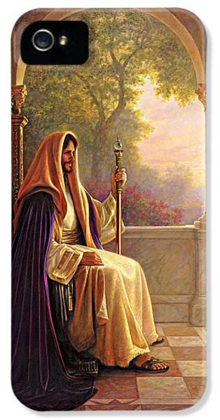 Pillar iPhone 5 Cases - King of Kings iPhone 5 Case by Greg Olsen