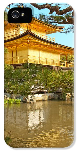 Kinkakuji Golden Pavilion Kyoto IPhone 5 / 5s Case by Sebastian Musial