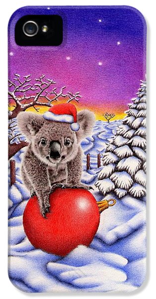 Koala On Ball IPhone 5 / 5s Case by Remrov
