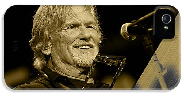 Kris Kristofferson Collection IPhone 5 / 5s Case by Marvin Blaine