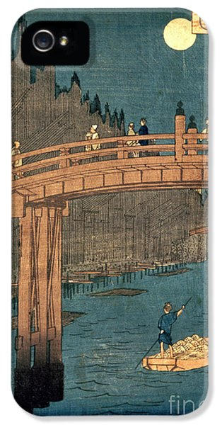 Kyoto Bridge By Moonlight IPhone 5 / 5s Case by Hiroshige