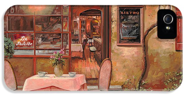 Street Scene iPhone 5 Cases - La Palette iPhone 5 Case by Guido Borelli