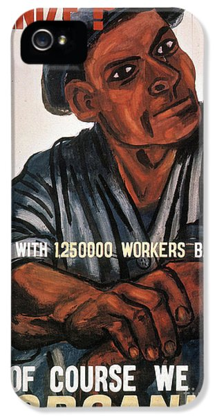 1930s iPhone 5 Cases - LABOR: POSTER, 1930s iPhone 5 Case by Granger