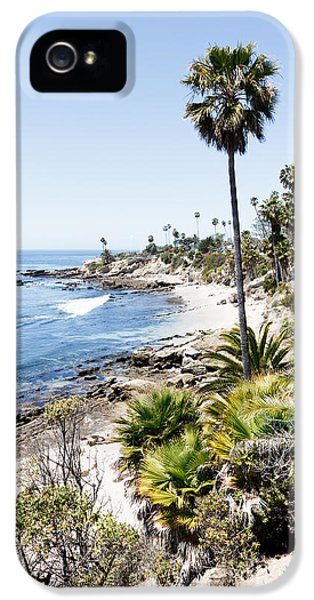 High Key iPhone 5 Cases - Laguna Beach California Heisler Park iPhone 5 Case by Paul Velgos