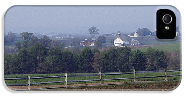 Loam iPhone 5 Cases - Lancaster PA Farm iPhone 5 Case by Bruce Woodruff