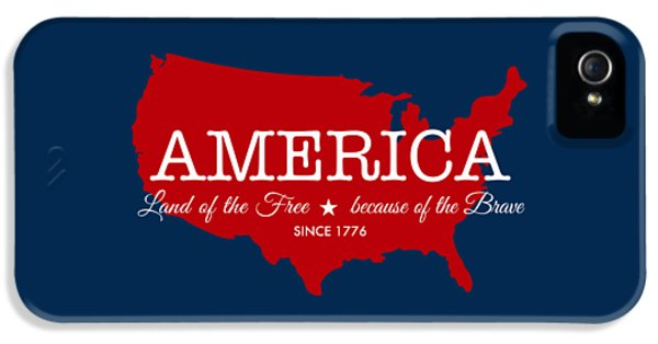 Land Of The Free IPhone 5 / 5s Case by Nancy Ingersoll