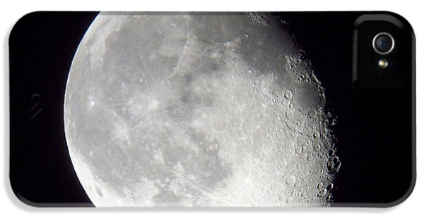 Lunacy iPhone 5 Cases - Late Moon on the Wane iPhone 5 Case by Roy Kaelin