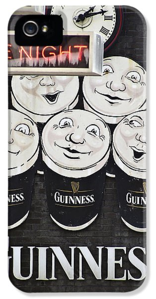 Late Night Guinness Limerick Ireland IPhone 5 / 5s Case by Teresa Mucha