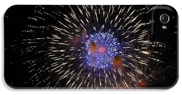 Fire Works iPhone 5 Cases - The Big Bang.. iPhone 5 Case by Nina Stavlund