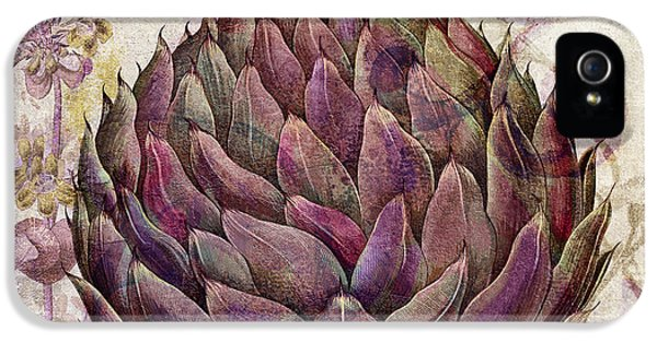 Legumes Francais Artichoke IPhone 5 / 5s Case by Mindy Sommers