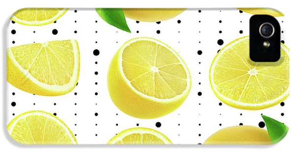 Lemon  IPhone 5 / 5s Case by Mark Ashkenazi