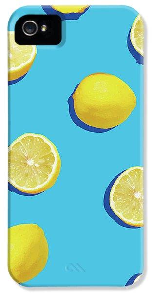 Lemon Pattern IPhone 5 / 5s Case by Rafael Farias