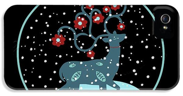 Let It Snow IPhone 5 / 5s Case by Marilu Windvand