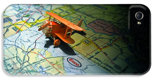 Map iPhone 5 Cases - Lets Take a Trip iPhone 5 Case by Adam Vance