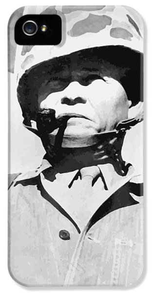 Lewis Chesty Puller IPhone 5 / 5s Case by War Is Hell Store