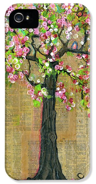 Lexicon Tree Of Life 4 IPhone 5 / 5s Case by Blenda Studio