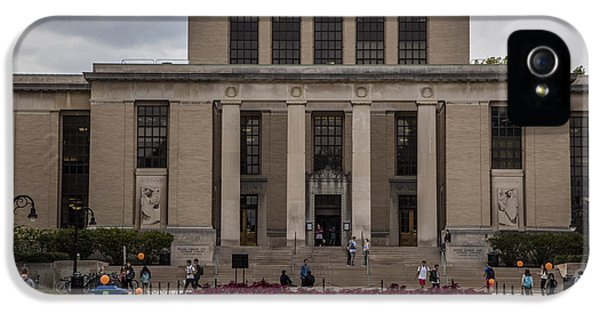 Library At Penn State University  IPhone 5 / 5s Case by John McGraw