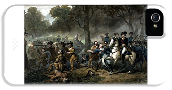 Life Of George Washington - The Soldier IPhone 5 / 5s Case by War Is Hell Store