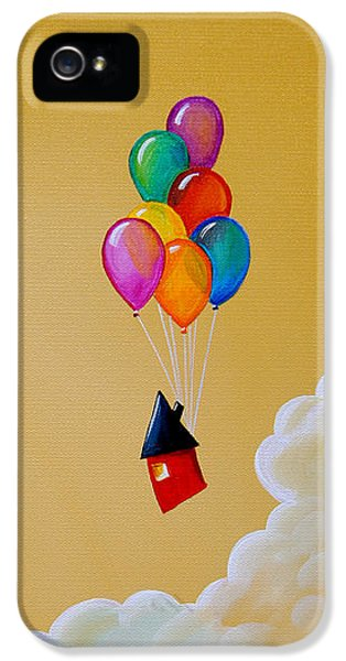Balloon iPhone 5 Cases - Life Of The Party iPhone 5 Case by Cindy Thornton