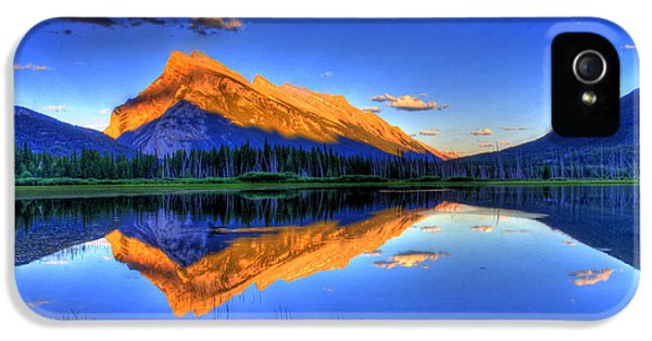 Landscape iPhone 5 Cases - Lifes Reflections iPhone 5 Case by Scott Mahon