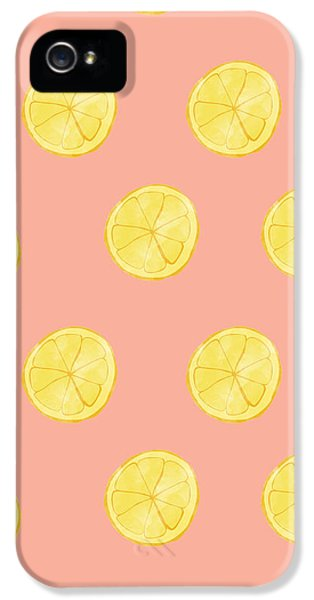 Little Lemons IPhone 5 / 5s Case by Allyson Johnson