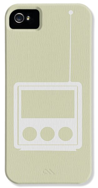 Mid iPhone 5 Cases - Little Radio iPhone 5 Case by Naxart Studio