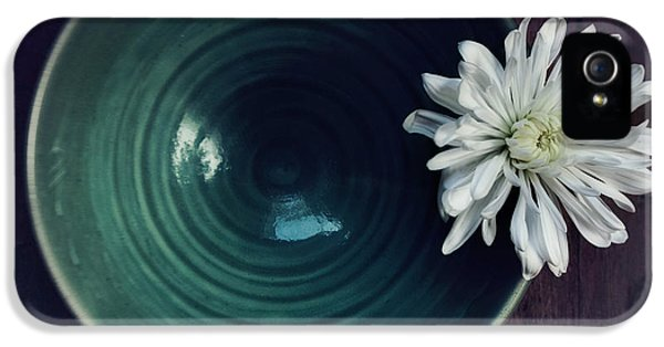 Flower iPhone 5 Cases - Live Simply iPhone 5 Case by Priska Wettstein