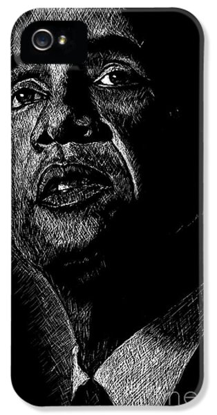 President Barack Obama iPhone 5 Cases - Living the Dream iPhone 5 Case by Maria Arango
