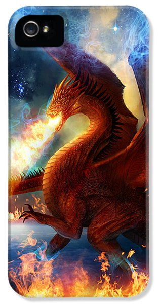 Lord Of The Celestial Dragons IPhone 5 / 5s Case by Philip Straub