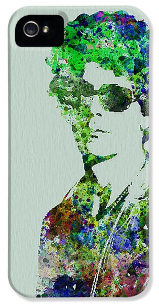 Irish iPhone 5 Cases - Lou Reed iPhone 5 Case by Naxart Studio