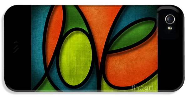Love - Abstract IPhone 5 / 5s Case by Shevon Johnson