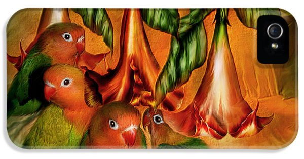 Love Among The Trumpets IPhone 5 / 5s Case by Carol Cavalaris