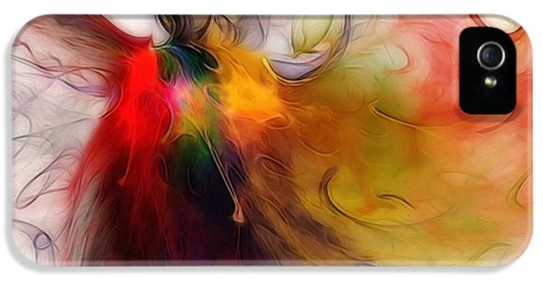 Contemplative iPhone 5 Cases - Love of Liberty iPhone 5 Case by Karin Kuhlmann