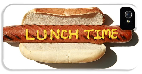 Hotdog iPhone 5 Cases - Lunch Time iPhone 5 Case by Michael Ledray