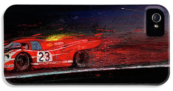 M Mcfly Racing IPhone 5 / 5s Case by Alan Greene