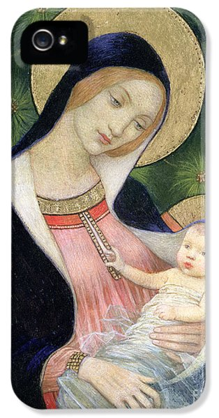 Madonna Of The Fir Tree IPhone 5 / 5s Case by Marianne Stokes