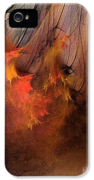 Contemplative iPhone 5 Cases - Magic iPhone 5 Case by Karin Kuhlmann