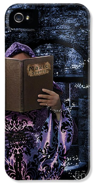 Witch iPhone 5 Cases - Magic Spells Book iPhone 5 Case by Amanda And Christopher Elwell