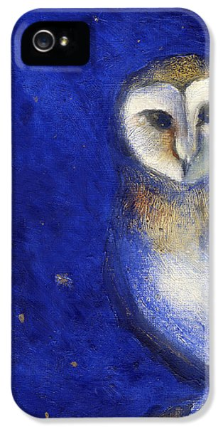 Owl iPhone 5 Cases - Magical Night One iPhone 5 Case by Nancy Moniz
