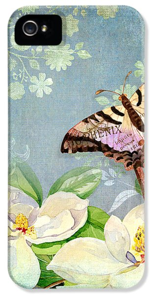 Magnolia Dreams  IPhone 5 / 5s Case by Audrey Jeanne Roberts