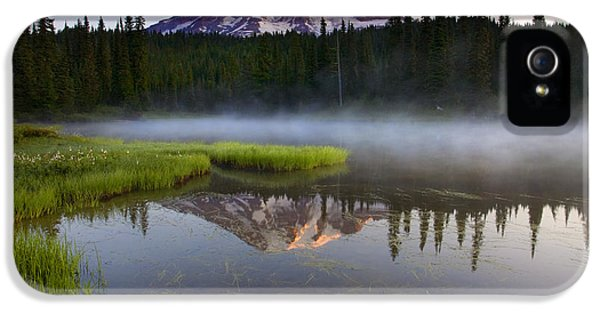 Lake iPhone 5 Cases - Majestic Dawn iPhone 5 Case by Mike  Dawson
